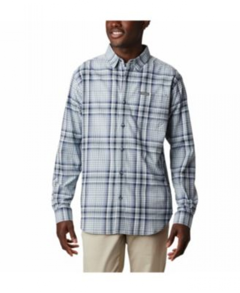 ihocon: Columbia Men's Vapor Ridge™ III Plaid Shirt 男士長袖襯衫