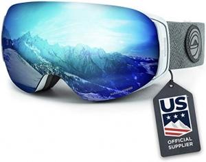 [今日特賣, 美國滑雪隊指定品牌] Wildhorn Roca滑雪護目鏡 $29.99免運(原價$59.99)