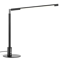 ihocon: ANZENSHI LED Desk Lamp Eye-Caring Metal Table Lamps Dimmable光線微調護眼桌燈
