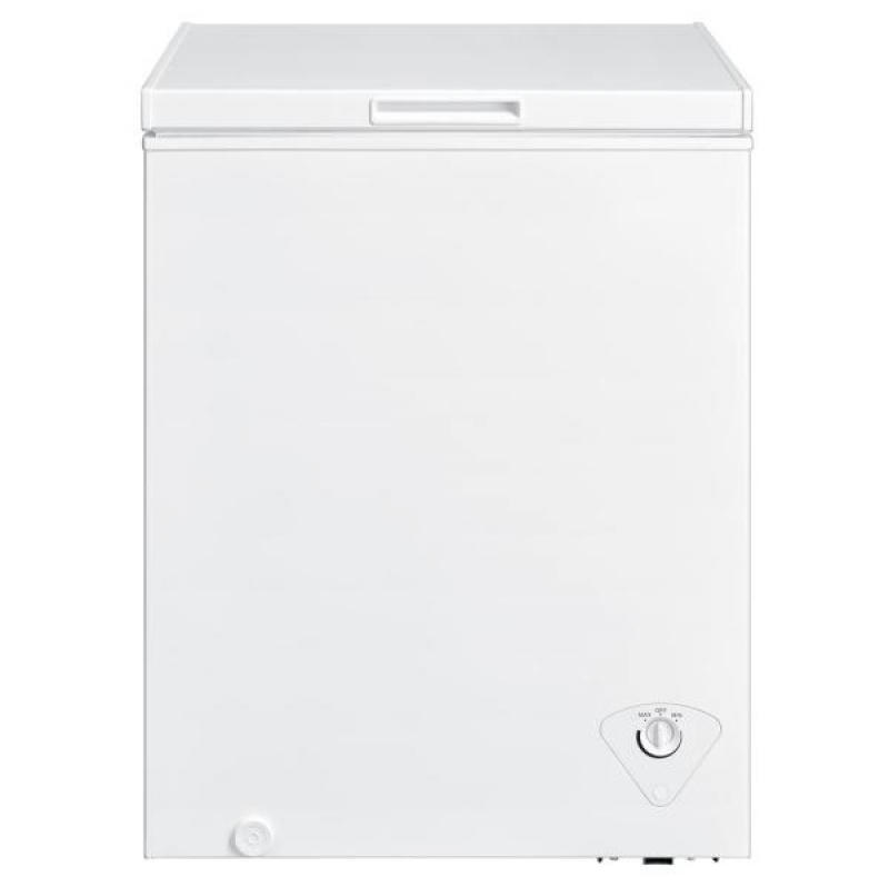 ihocon: VISSANI 5 cu. ft. Defrost Chest Freezer in White  除霜箱式冷凍櫃/凍箱