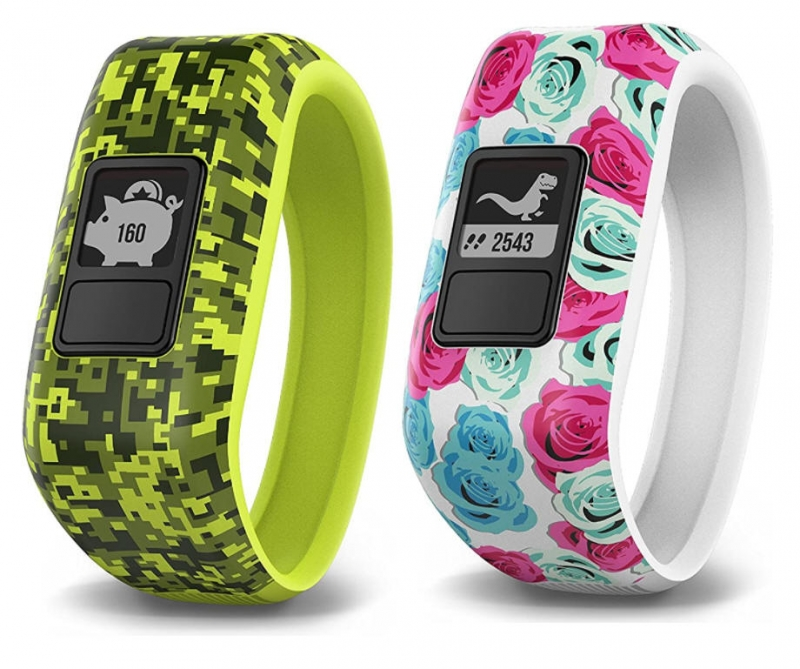 ihocon: Garmin Vívofit Jr, Kids Fitness/Activity Tracker, 1year Battery Life 兒童健身/活動追蹤手環-多色可選
