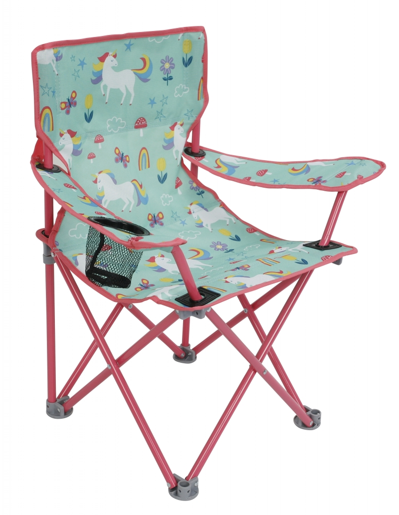 ihocon: Crckt Kids Folding Camp Chair with Safety Lock (125lb Capacity) 兒童折疊椅