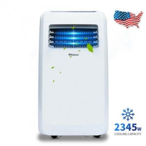 ihocon: Shinco 8,000 BTU Portable Air Conditioner,Dehumidifier Fan Functions,w/ Remote 移動式冷氣機/除濕機