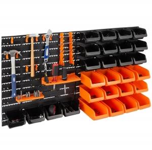 ihocon: Best Choice Products 44-Piece Wall Mounted Garage Storage Rack 壁掛式車庫儲物架/工具架