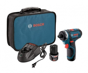 ihocon: Bosch PS21-2A 12V Max 2-Speed Pocket Driver Kit with 2 Batteries, Charger and Case 口袋型電動螺絲起子