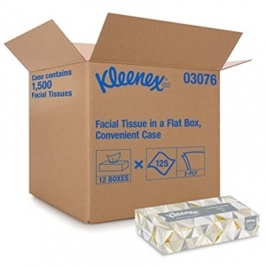 ihocon: Kleenex Professional Facial Tissue for Business (03076), Flat Tissue Boxes, 12 Boxes 面紙