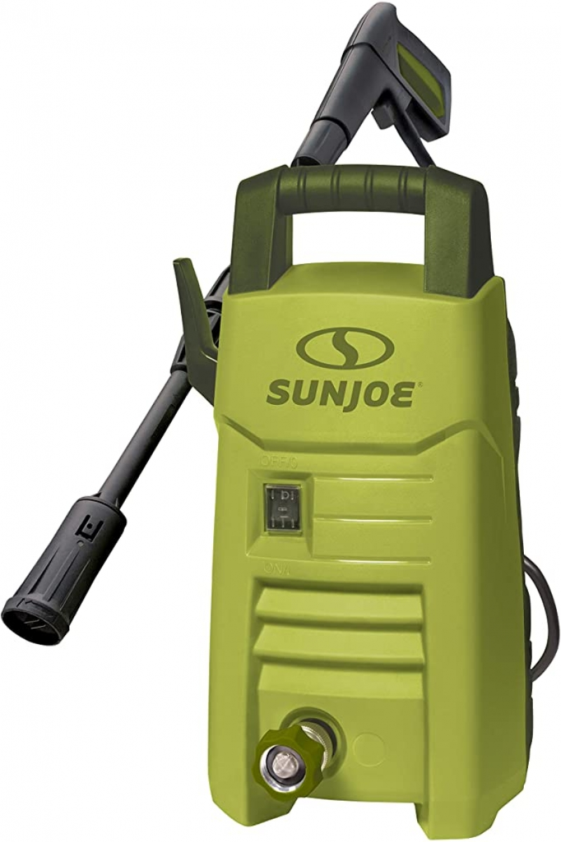 ihocon: Sun Joe SPX206E 1600 PSI 1.45 GPM Max Compact Electric Pressure Washer, w/Variable Tip Lance 小型高壓清洗機