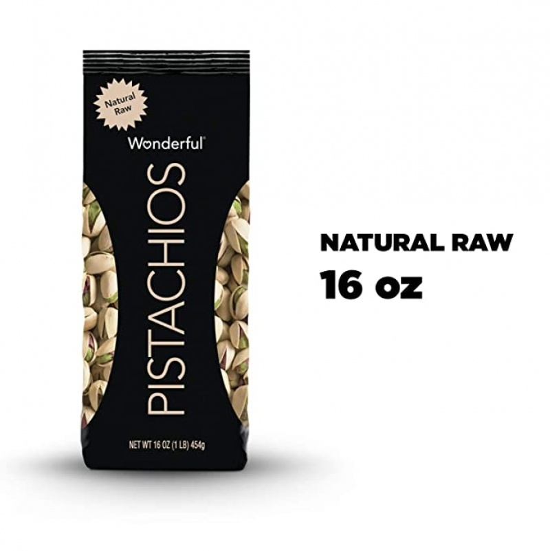 ihocon: Wonderful Pistachios, Natural Raw, 16 Ounce Bag 開心果