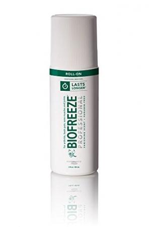 ihocon: Biofreeze Professional Roll-On Pain Relief Gel, 3 oz. Bottle, Green 止痛滾珠瓶