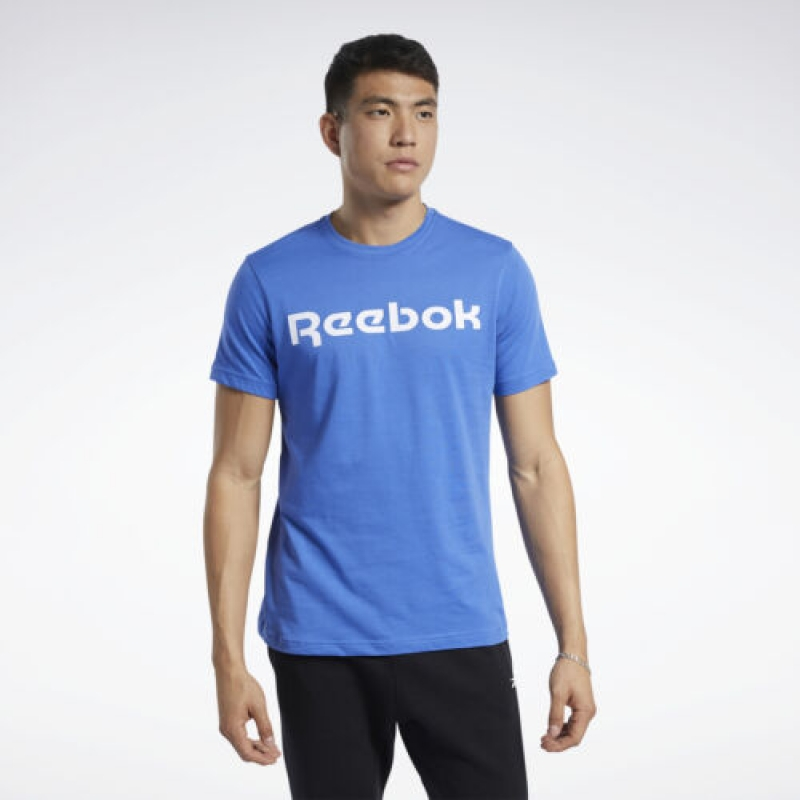 ihocon: Reebok Men's Graphic Series Linear Logo Tee 男士短袖衫
