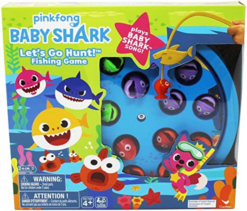 ihocon: Pinkfong Baby Shark Let's Go Hunt Musical Fishing Game 釣魚玩具