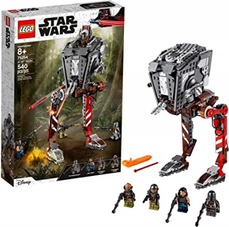 ihocon: 樂高星球大戰積木LEGO Star Wars AT-ST Raider 75254 The Mandalorian Collectible All Terrain Scout Transport Walker Posable Building Model (540 Pieces)