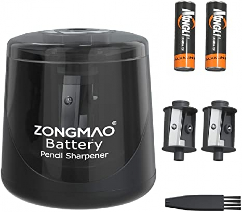 ihocon: ZONGMAO Battery Powered Electric Pencil Sharpener 電動削筆機