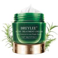 ihocon:  BREYLEE Tea Tree Oil Acne Cream for Clearing Severe Acne, Breakout, Remove Pimple and Repair Skin (20ml,0.7oz) 茶樹青春霜