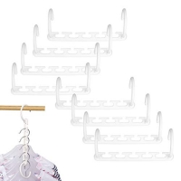 ihocon: IUNIQEE Space Saving Hangers, Pack of 8Pcs 節省空間衣架