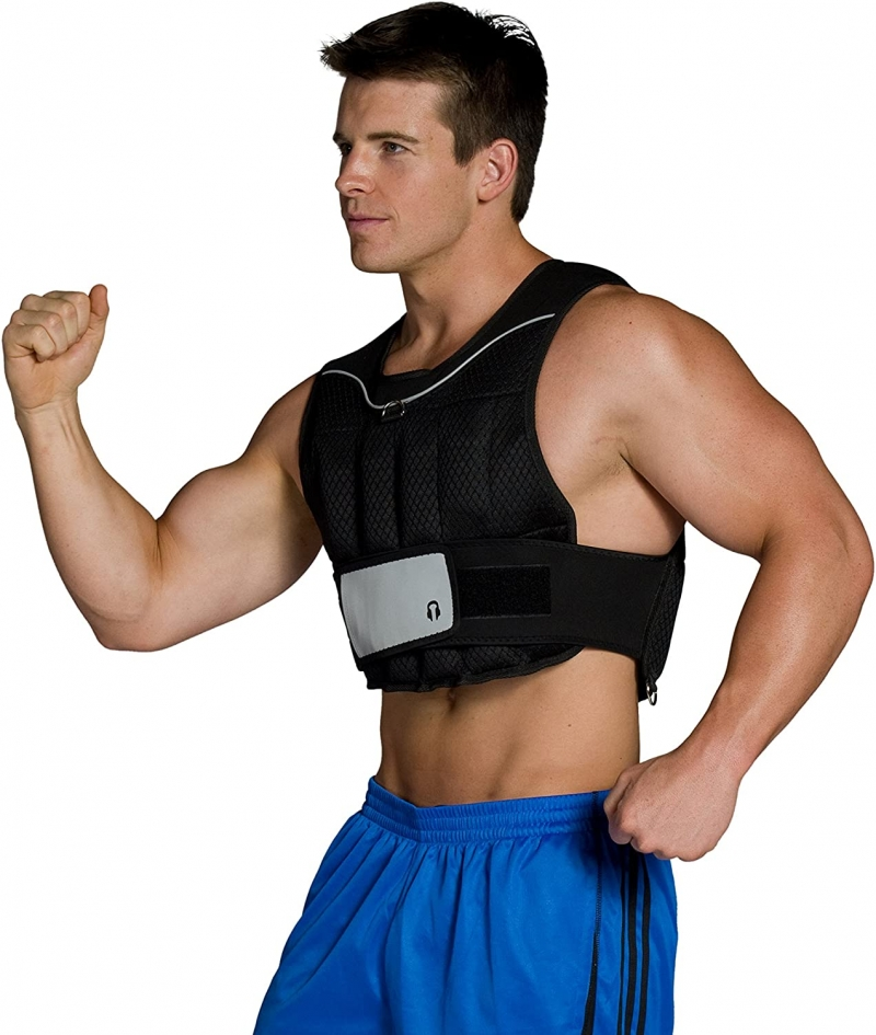 ihocon: CAP Barbell Adjustable Weighted Vest, 20-Pound 可調重量加重背心