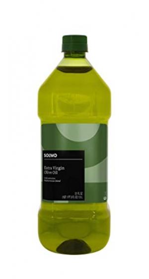 ihocon: Amazon Brand - Solimo Extra Virgin Olive Oil, Mediterranean Blend, 1.5L [Amazon自家品牌] 特級初榨橄欖油