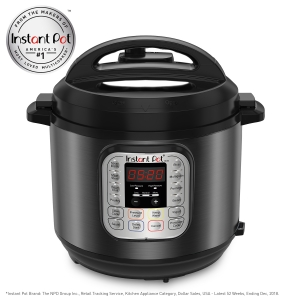 ihocon: Instant Pot DUO60 Black Stainless 6-Quart 7-in-1 Multi-Use Programmable Pressure Cooker多功能電壓力鍋