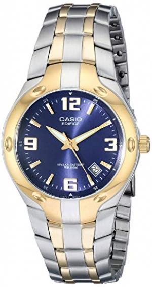 ihocon: Casio Men's EF106SG-2AV Edifice Two-Tone Stainless Steel Watch 卡西歐男錶