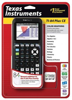 Texas Instruments 繪圖計算機 TI-84 Plus $88 / TI-84 Plus CE $118