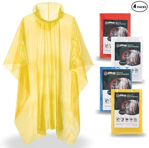 [男女均適用] SaphiRose 成人雨衣 4件 $2.99