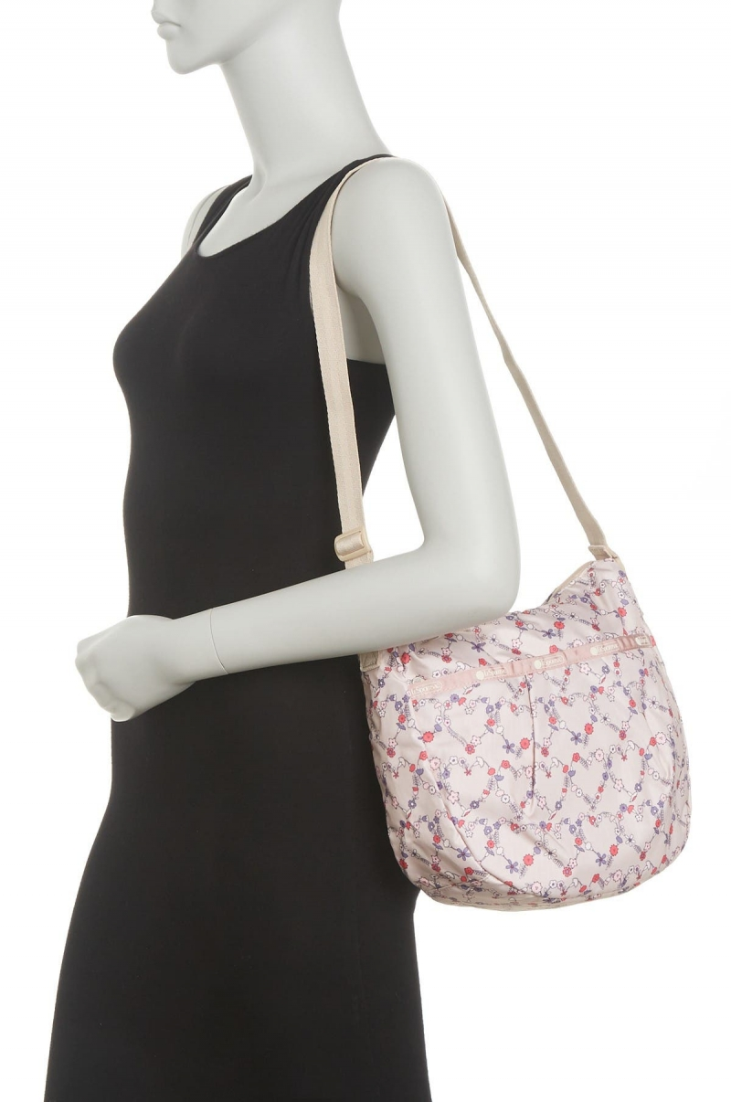 ihocon: LeSportsac Patterned Pleat Hobo Bag 包包