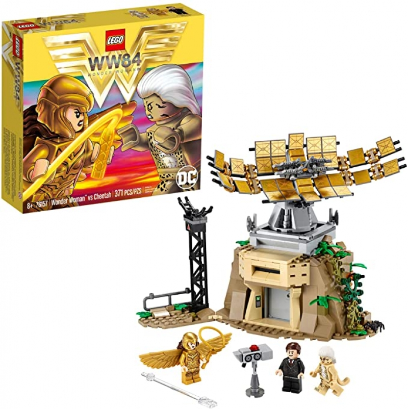 ihocon: 樂高積木LEGO DC Wonder Woman vs Cheetah Building Kit (371 Pieces)