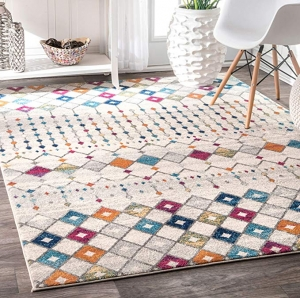 ihocon: nuLOOM Moroccan Blythe Area Rug, 4呎 x 6呎 地毯