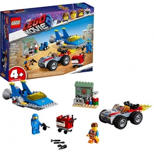 ihocon: LEGO THE LEGO MOVIE 2 Emmet and Benny's Build and Fix Workshop 70821(117 Pieces)