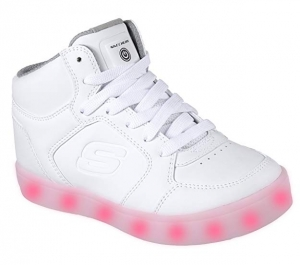 ihocon: Skechers Kids Kids' S Energy Lights Sneaker 兒童閃燈運動鞋(size: 7.5 Big Kid)