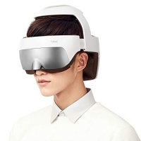ihocon: Breo iDream5 2-in-1 Rechargeable Head Massager, Eye Massager Electric Helmet Massager with Heat, Air Compression, APP Control 2合1頭部/眼部加熱按摩器, APP操控