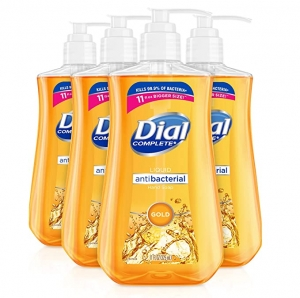 ihocon: Dial Antibacterial liquid hand soap, gold, 11 ounce (Pack of 4), 4 Count 抗菌洗手液皂