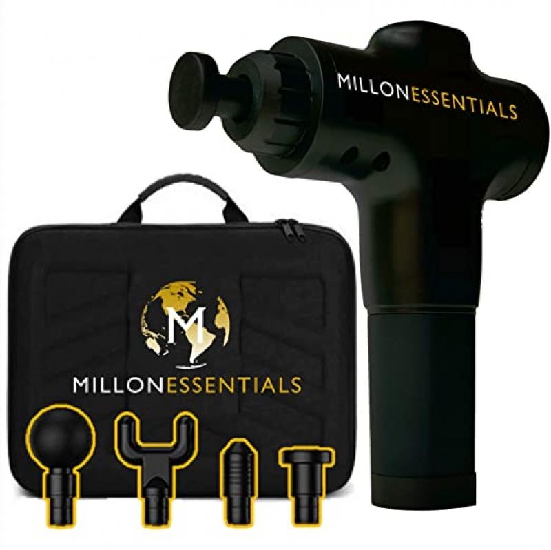 ihocon: M MILLONESSENTIALS Deep Tissue Massage Gun 深層按摩槍