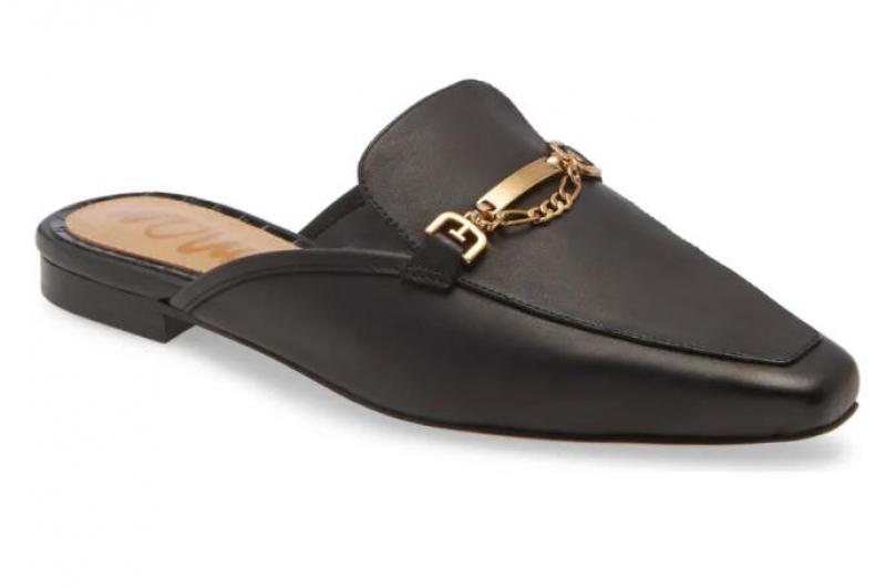 ihocon: SAM EDELMAN Evelan Chain Loafer Mule 女鞋