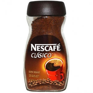 ihocon: NESCAFE CLASICO Dark Roast Instant Coffee 7 Ounce 即溶咖啡