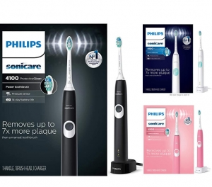 ihocon: Philips Sonicare HX6810/50 ProtectiveClean 4100 Rechargeable Electric Toothbrush飛利浦電動牙刷