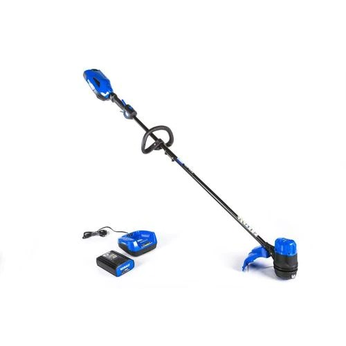 ihocon: Kobalt 40-volt Max 13-in Straight Cordless String Trimmer with Edger Capability (Battery Included) 無線草地修邊機,含電池
