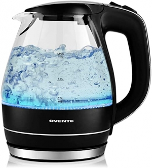 ihocon: Ovente KG83B 1.5-L Glass Electric Kettle 玻璃電熱水瓶