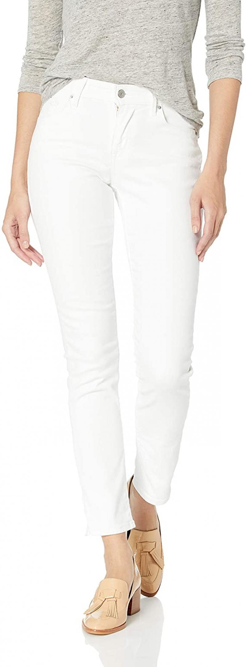 ihocon: Levi's Women's Classic Mid Rise Skinny Jeans 女士中腰緊身牛仔褲