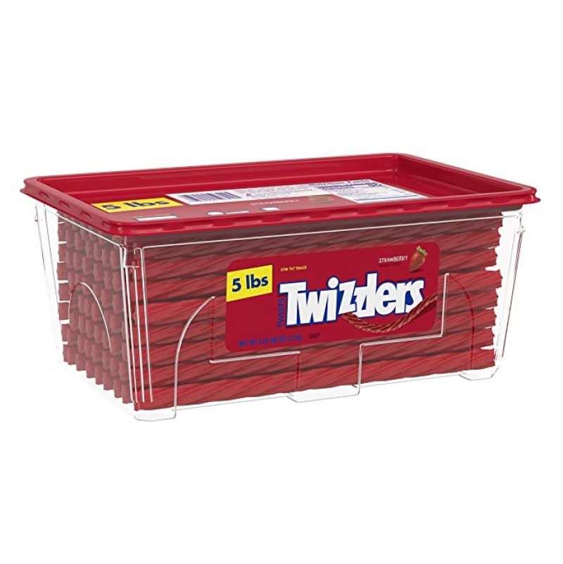ihocon: Twizzlers Halloween Candy, Bulk Strawberry Licorice, 5 Pounds
