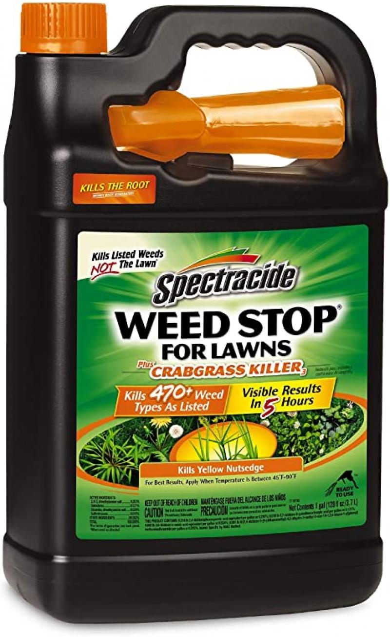 ihocon: Spectracide HG-96587 Lawn Weed Killer, 1 gal  草地除草劑