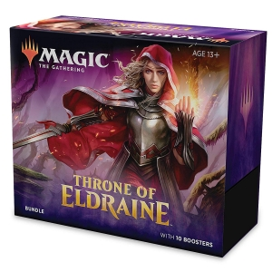 ihocon: Magic: The Gathering Throne of Eldraine Bundle | 10 Booster Pack (150 Cards) | Accessories