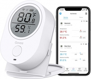 ihocon: Govee WiFi Indoor Hygrometer Temperature Humidity Monitor 智能室內溫度/濕度監測器