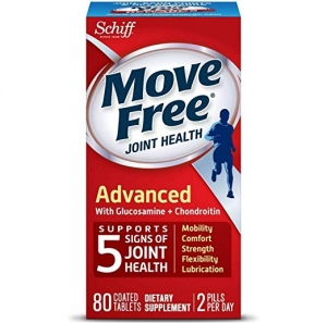 ihocon: Move Free Triple Strength Glucosamine Chondroitin and Hyaluronic Acid Joint Supplement, 80 Count