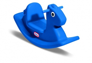 ihocon: Little Tikes Rocking Horse Blue 搖搖馬