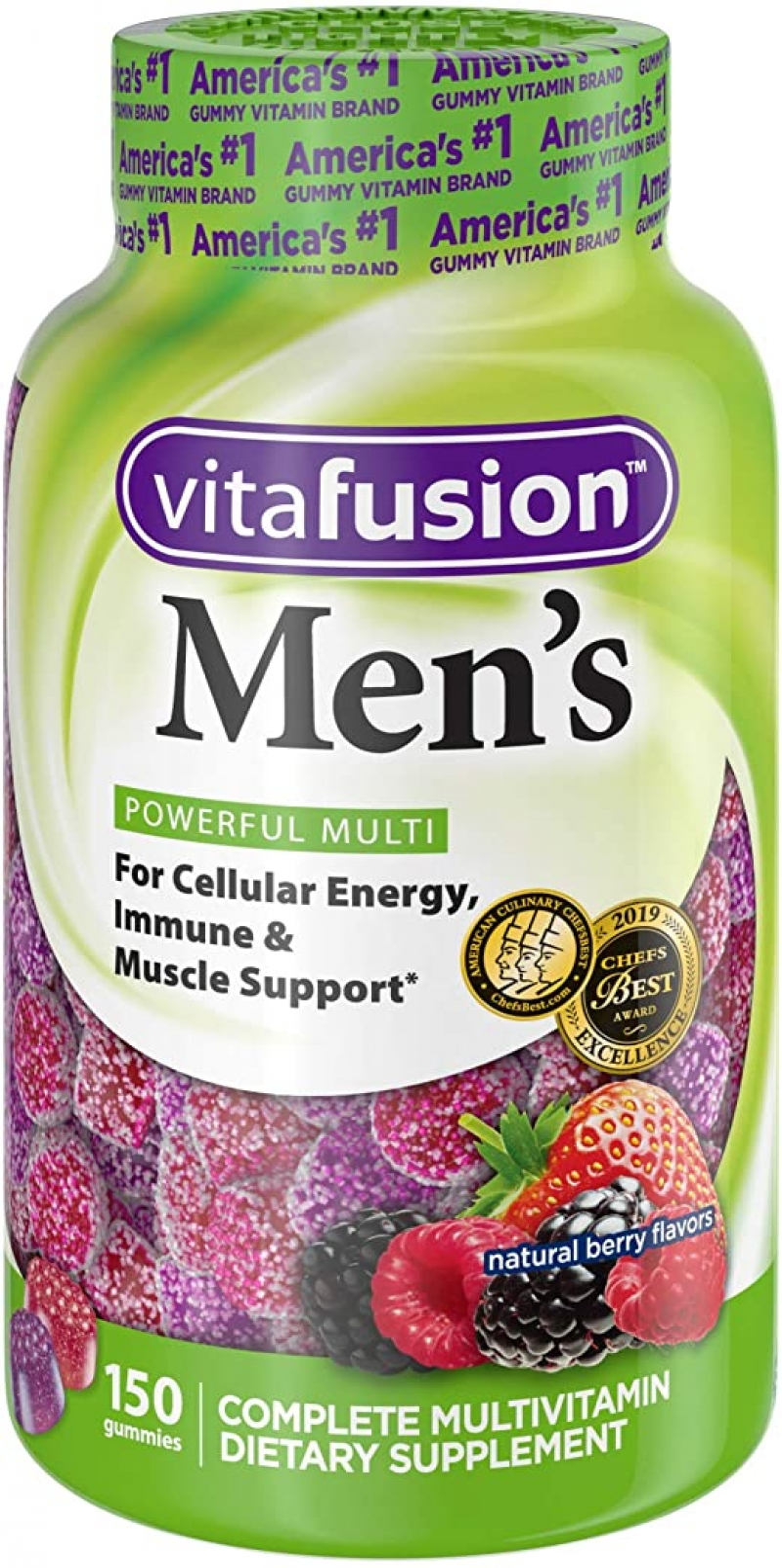 ihocon: Vitafusion Mens Gummy Vitamins 男士綜合維他命軟糖 150粒