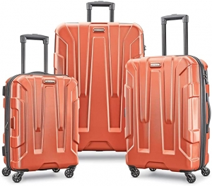 ihocon: Samsonite Centric Hardside Expandable Luggage with Spinner Wheels, 3-Piece Set (20/24/28) 新秀麗硬殼行李箱