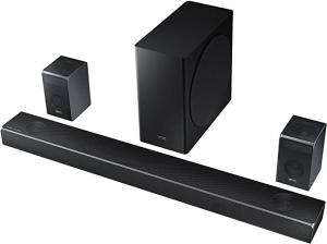 ihocon: Samsung HW-Q90R 7.1.4-Channel Sound Bar System with Wireless Subwoofer & Bluetooth