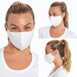 SKIN360 可重複使用布口罩 6個(顏色不一定) $13.23
