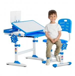 ihocon: FDW Adjustable Children's Desk and Chair Set 可調高度兒童桌椅